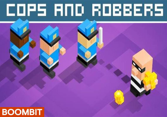 They say that Crime doesn't pay… Well try it for yourself! How far can you go? </br>In Cops & Robbers your goal is to steal as many gold coins as you can while avoiding being caught by the police. Tons of different disguises, characters and partners in crime to unlock, each with their unique style and special moves</br> 								 								<a  href='https://www.youtube.com/watch?v=3qmzqfO8awA' class='external'> Watch video trailer...</a> 								</br> 								<center> 								<a href='https://itunes.apple.com/us/app/cops-robbers!/id1047205902?mt=8' class='external'><img src='_include/img/appstore.png'</a> 								<a href='https://play.google.com/store/apps/details?id=com.boombit.CopsAndRobbers&hl=pl' class='external'><img src='_include/img/google.png'</a>