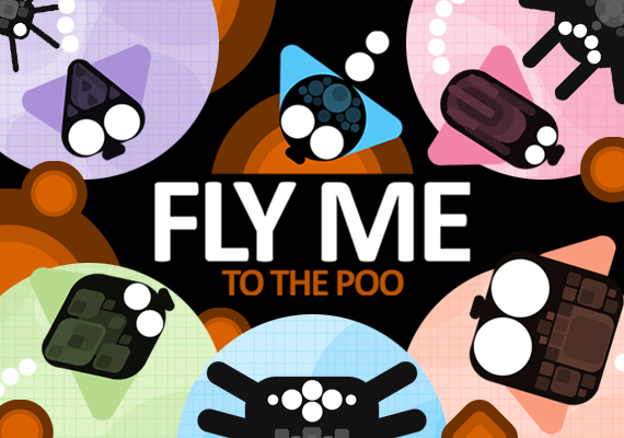 Help Buzz Overbrown and his friends live a couple seconds longer in this fast paced, tap&hold, truly crappy game.</br>Tap and Hold to turn Mr. Fly. Collect Poo. Avoid spiders. Use poo to unlock more Characters. Compete with other players around the globe.</br> 					 								<a  href='https://www.youtube.com/watch?v=s8zMeRVBUIs' class='external'> Watch video trailer...</a> 								</br> 								 								<center> 								<a href='https://play.google.com/store/apps/details?id=com.verynicestudio.flymetothepoo&hl=pl' class='external'><img src='_include/img/google.png'></a>