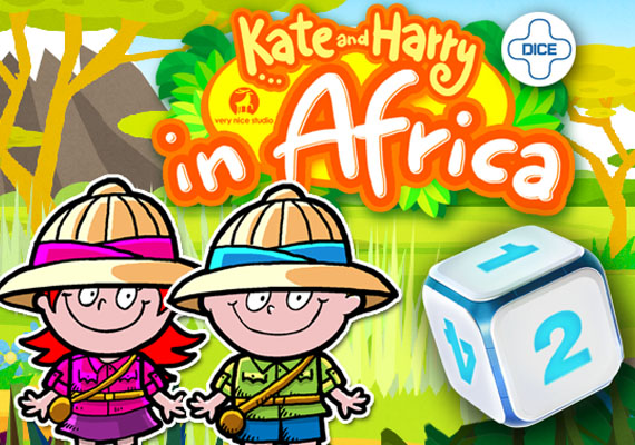 Kate and Harry are back and they are taking you to Africa! Let your toddlers and preschoolers have fun with this cute, educational introduction to board games. You can play alone, you can play with your friend or sibling.  								</br> 								<a  href='http://verynicestudio.com/files/khafrica.html' class='external'> Learn more...</a></br> 								</br> 								<center> 								<a href='https://itunes.apple.com/app/id663795060' class='external'><img src='_include/img/appstore.png'</a> 								<a href='https://play.google.com/store/apps/details?id=com.verynicestudio.KHAfrica' class='external'><img src='_include/img/google.png'</a>