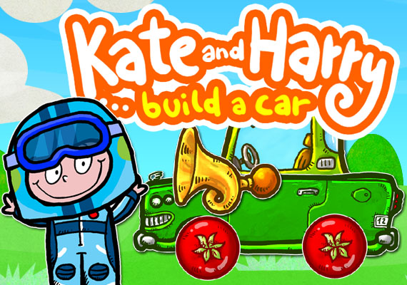 Build a car. Or a truck. Or a banana vehicle on tomato wheels. See Kate or Harry drive your machine. Touch the wheels to go faster. Honk! Tap the animals! Pick the presents. 								</br> 								<a  href='http://verynicestudio.com/files/khcar.html'> Learn more...</a></br> 								</br> 								<center> 								<a href='https://itunes.apple.com/us/app/build-a-car-with-kate-and-harry/id561951100?mt=8' target='new window'><img src='_include/img/appstore.png'</a> 								<a href='https://play.google.com/store/apps/details?id=com.verynicestudio.KHCar' target='new window'><img src='_include/img/google.png'</a>